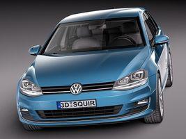 Volkswagen Golf 7 2013 5 Door Image 2