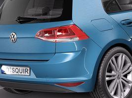 Volkswagen Golf 7 2013 5 Door Image 4