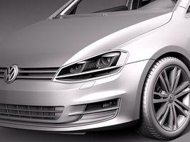 Volkswagen Golf 7 2013 5 Door Image 14