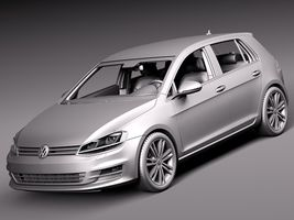 Volkswagen Golf 7 2013 5 Door Image 13