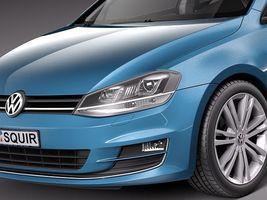 Volkswagen Golf 7 2013 5 Door Image 3