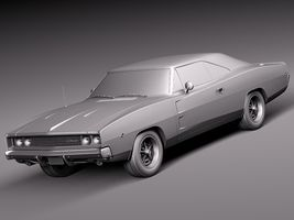Dodge Charger 1968 Image 11