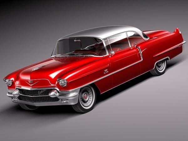 Cadillac Coupe De Ville 1956 Image