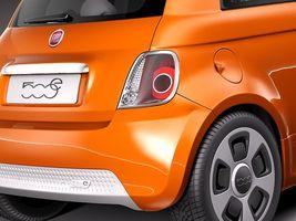 Fiat 500 e 2014 Image 4