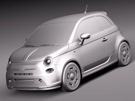 Fiat 500 e 2014 Image 10