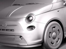Fiat 500 e 2014 Image 11