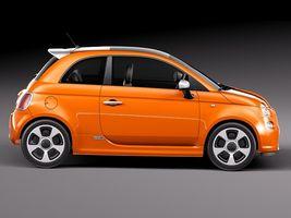 Fiat 500 e 2014 Image 7