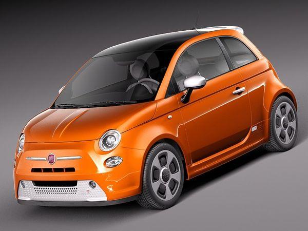 Fiat 500 e 2014 Image