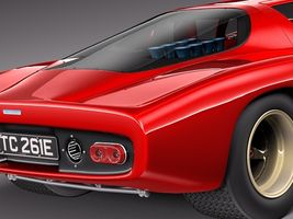 Mclaren M6 GT Grand Prix Race car Image 4