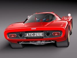 Mclaren M6 GT Grand Prix Race car Image 6