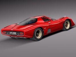 Mclaren M6 GT Grand Prix Race car Image 5