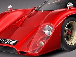 Mclaren M6 GT Grand Prix Race car Image 3