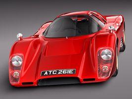 Mclaren M6 GT Grand Prix Race car Image 2