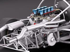 Mclaren M6 GT Grand Prix Race car Image 13