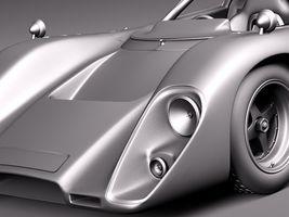 Mclaren M6 GT Grand Prix Race car Image 15