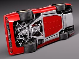 Mclaren M6 GT Grand Prix Race car Image 10