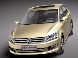 Volkswagen Santana 2014 Image 2