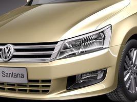 Volkswagen Santana 2014 Image 3