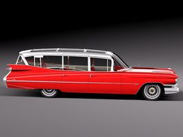Cadillac Fleetwood 75 Station Wagon 1959 Image 7