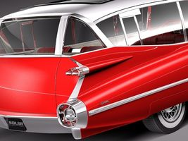 Cadillac Fleetwood 75 Station Wagon 1959 Image 10