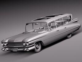 Cadillac Fleetwood 75 Station Wagon 1959 Image 4