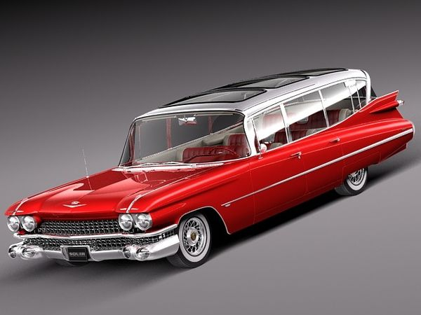 Cadillac Fleetwood 75 Station Wagon 1959 Image 13
