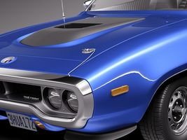 Plymouth Road Runner GTX 1971-1975 Image 3