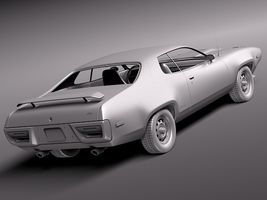 Plymouth Road Runner GTX 1971-1975 Image 12