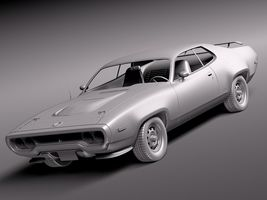 Plymouth Road Runner GTX 1971-1975 Image 9