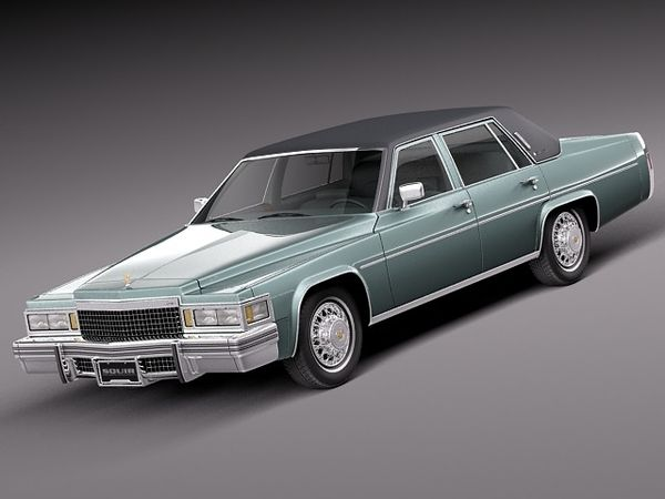 Cadillac DeVille Sedan 1977 Image 1