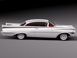 Oldsmobile 88 1959 coupe Image 7
