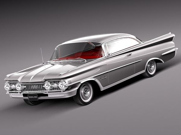 Oldsmobile 88 1959 coupe Image 1