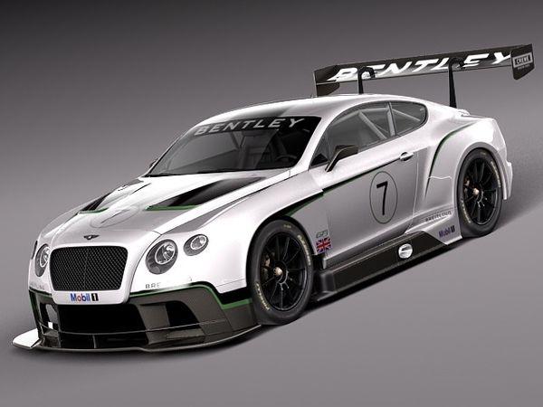 Bentley Continental GT3 2014 Race Car Image 1