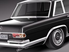 Mercedes-Benz 600 w100 Pullman 1963-1981 Image 4