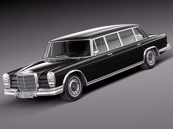 Mercedes-Benz 600 w100 Pullman 1963-1981 Image 1