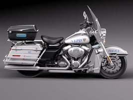 Harley-Davidson Road King NYPD Police 2015 Image 7