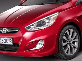 Hyundai Accent Hatchback 5-door 2015 Image 3