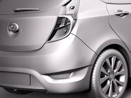 Hyundai Accent Hatchback 5-door 2015 Image 11