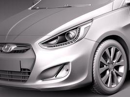 Hyundai Accent Hatchback 5-door 2015 Image 10