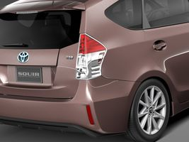 Toyota Prius V 2015 Image 3