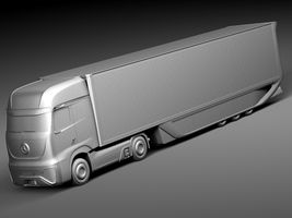 Mercedes-Benz FT 2025 Future Truck with trailer Image 9