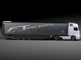 Mercedes-Benz FT 2025 Future Truck with trailer Image 7