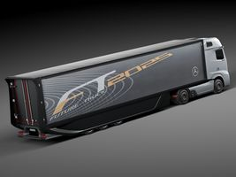 Mercedes-Benz FT 2025 Future Truck with trailer Image 5