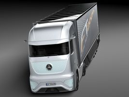 Mercedes-Benz FT 2025 Future Truck with trailer Image 2