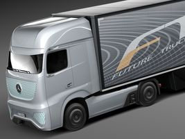 Mercedes-Benz FT 2025 Future Truck with trailer Image 3