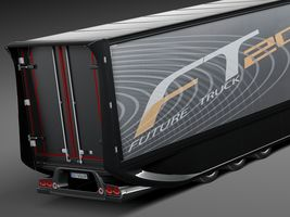 Mercedes-Benz FT 2025 Future Truck with trailer Image 4