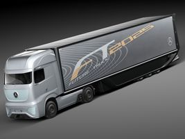 Mercedes-Benz FT 2025 Future Truck with trailer Image 1