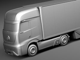 Mercedes-Benz FT 2025 Future Truck with trailer Image 10