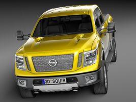 HQ Lowpoly Nissan Titan XD 2016 Image 2