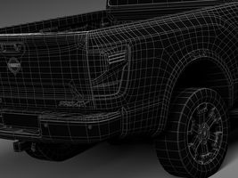 HQ Lowpoly Nissan Titan XD 2016 Image 15